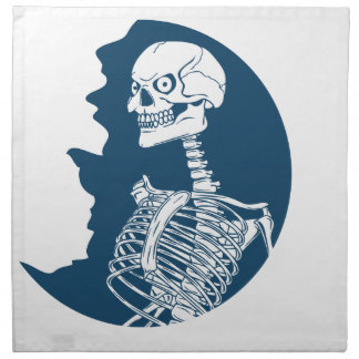 blue moon shirt napkin