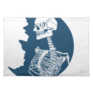 blue moon shirt placemat