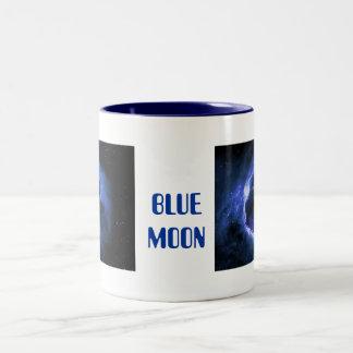 Blue Moon Two-Tone Coffee Mug