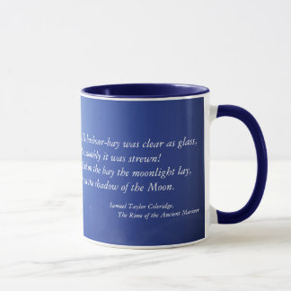Blue Moonlight Ceramic Mug
