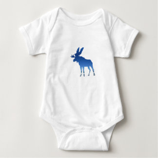 blue moose baby bodysuit