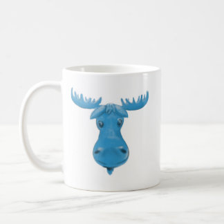 Blue Moose Coffee Mug