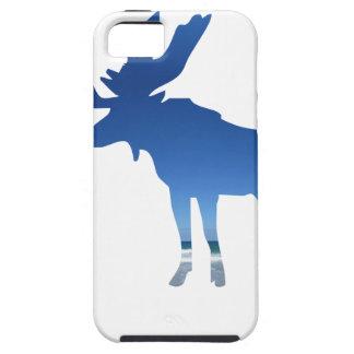 blue moose iPhone 5 case