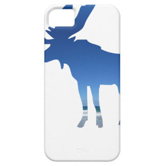 blue moose iPhone 5 cover