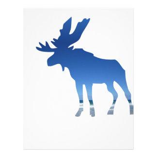 blue moose letterhead
