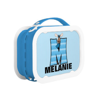 "Blue Moose Monogrammed ""M"" Camouflage Lunchboxes"