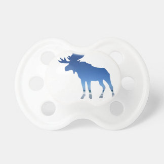 blue moose pacifier