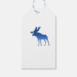 blue moose pack of gift tags