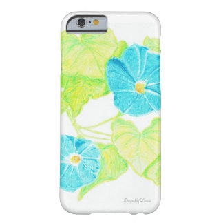 Blue Morning Glory Barely There iPhone 6 Case