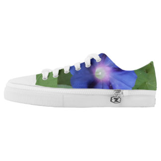 blue morning glory sneakers