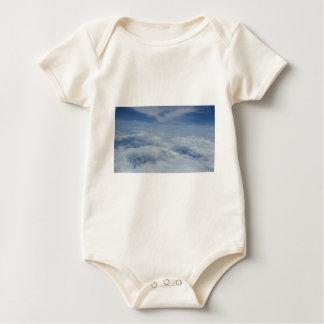 blue morning sky baby bodysuit