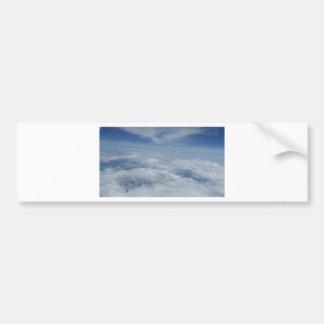 blue morning sky bumper sticker