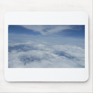 blue morning sky mouse pad