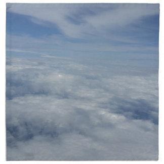 blue morning sky napkin