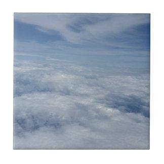 blue morning sky tile