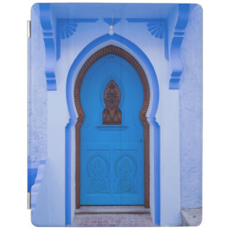 Blue Moroccan Door iPad Cover