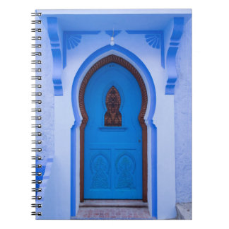 Blue Moroccan Door Notebooks