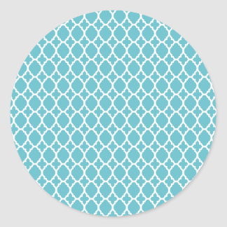 Blue Moroccan Tile Stickers