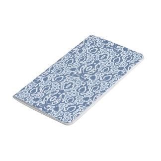 Blue Morocco Elegant Casbah Damask Journal