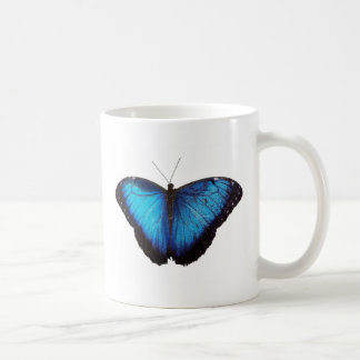 Blue Morpho Butterflie Mug