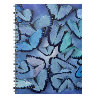 Blue Morpho Butterflies Notebooks