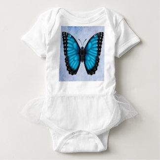 Blue Morpho Butterfly Baby Bodysuit