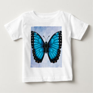 Blue Morpho Butterfly Baby T-Shirt