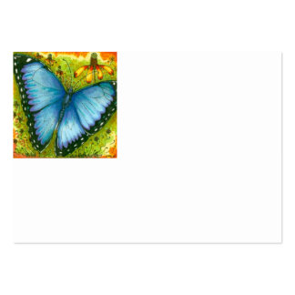Blue Morpho Butterfly Business Card