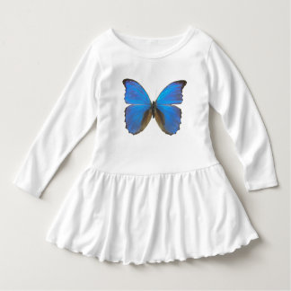 Blue Morpho butterfly Dress
