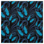 Blue Morpho Butterfly Fabric