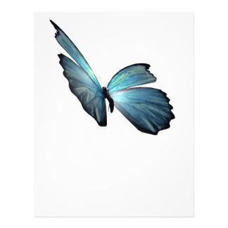 Blue Morpho Butterfly Custom Flyer
