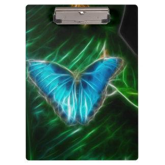 Blue Morpho Butterfly Fractal Clipboards