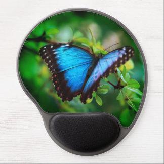 Blue Morpho Butterfly Gel Mousepad