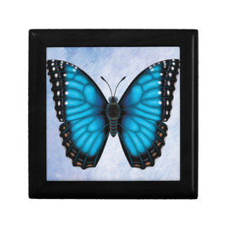 Blue Morpho Butterfly Gift Box