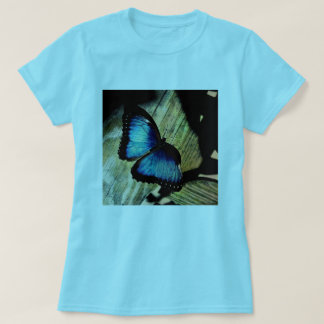 Blue Morpho Butterfly Insect Pretty T Shirt