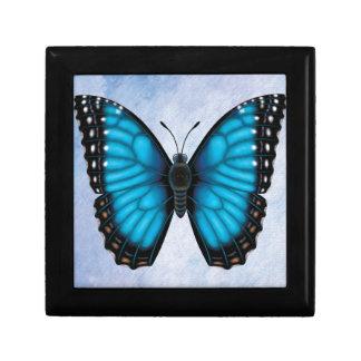 Blue Morpho Butterfly Keepsake Box