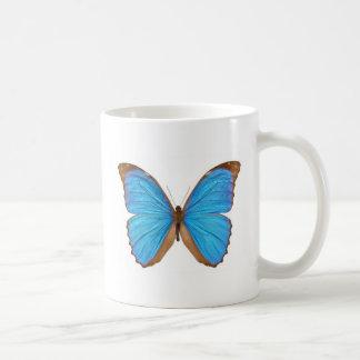 Blue Morpho Butterfly (Menelaus Blue Morpho, Morph Mugs