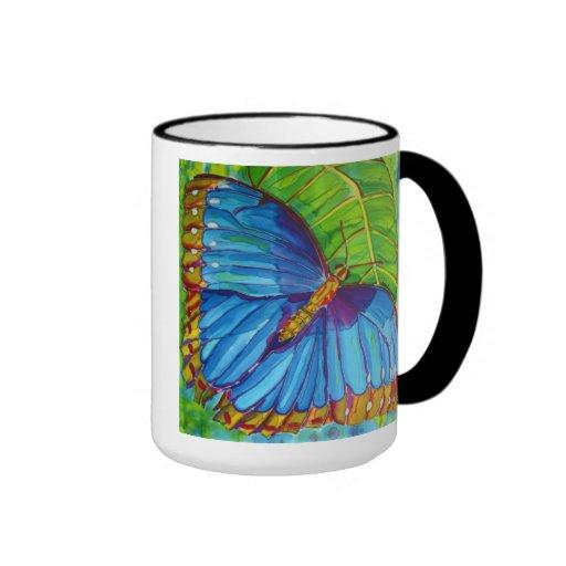 Blue Morpho Butterfly Mug