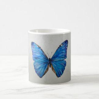Blue Morpho Butterfly Mug 14 oz.