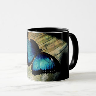 Blue Morpho Butterfly Pretty Insect Mug Cup