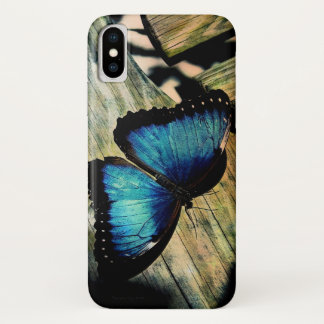 Blue Morpho Butterfly Pretty iPhone Case
