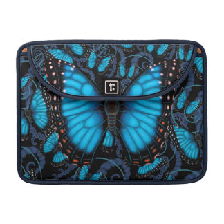Blue Morpho Butterfly Sleeve For MacBooks
