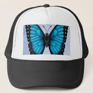 Blue Morpho Butterfly Trucker Hat