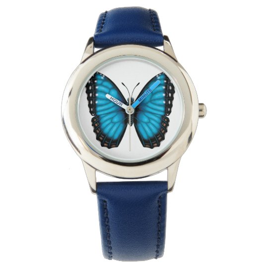 Blue Morpho Butterfly Watches