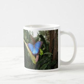 Blue Morpho Peleides Classic White Coffee Mug