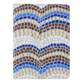 Blue Mosaic Extra Large Notebook
