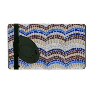Blue Mosaic iPad 2/3/4 Case with Kickstand