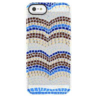 Blue Mosaic iPhone 5/5s/SE Deflector Case