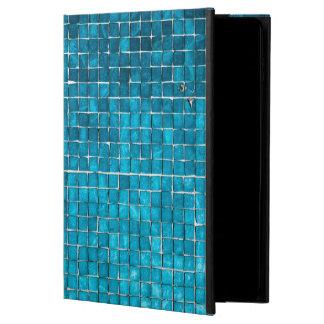 Blue mosaic pattern