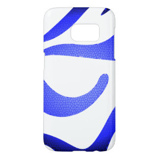 Blue Mosaic Samsung Galaxy S7 Samsung Galaxy S7 Case